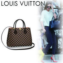 Louis Vuitton DAMIER Casual Style Canvas A4 2WAY Handbags