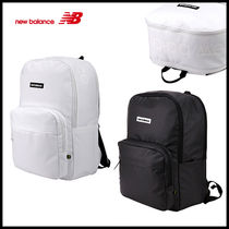 New Balance Unisex Faux Fur Plain Backpacks