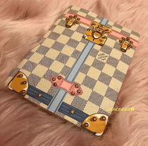 Louis Vuitton DAMIER AZUR Unisex Blended Fabrics Special Edition Notebooks