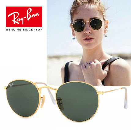 bba6515c82 Ray Ban ROUND Unisex Round Sunglasses (RB3447 001 50MM) by ...