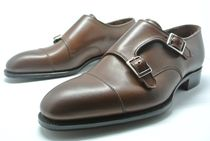 ALfred Sargent Monk Leather Loafers & Slip-ons