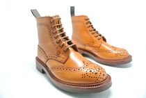 Tricker's Casual Style Leather Boots Boots
