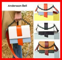 ANDERSSON BELL Casual Style Leather Shoulder Bags