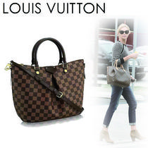 Louis Vuitton DAMIER Casual Style Canvas 2WAY Handbags