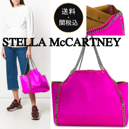 Casual Style Bag in Bag A4 Chain Plain Totes