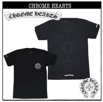 CHROME HEARTS Cotton Short Sleeves T-Shirts