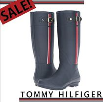 Tommy Hilfiger Round Toe Casual Style Rain Boots Boots