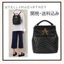 Stella McCartney FALABELLA Star Casual Style Backpacks