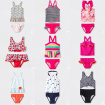 Cat & Jack Blended Fabrics Kids Girl Swimwear