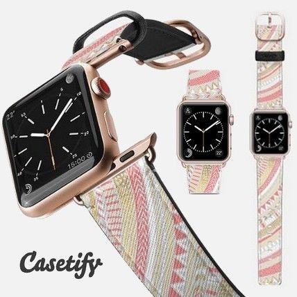 Casual Style Unisex Leather Watches