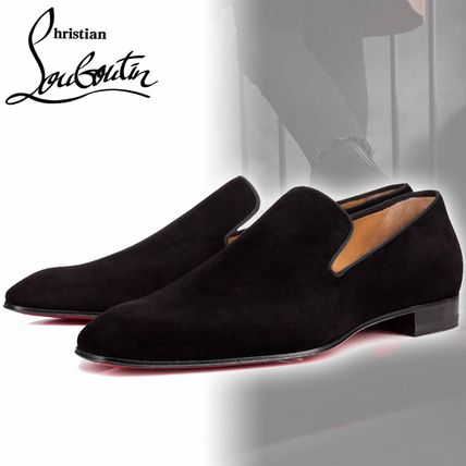 ... Christian Louboutin Loafers   Slip-ons Plain Toe Moccasin Suede Street  Style Plain ... 7d68cf60e04a