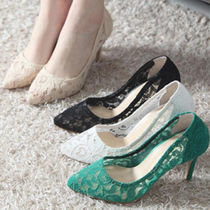 Wedge Plain Party Style Wedge Pumps & Mules