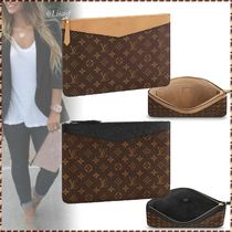 Louis Vuitton MONOGRAM Monogram Canvas Blended Fabrics Bag in Bag Bi-color