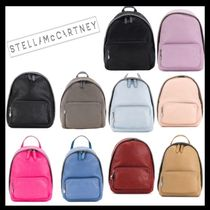 Stella McCartney FALABELLA Casual Style Faux Fur 2WAY Plain Backpacks