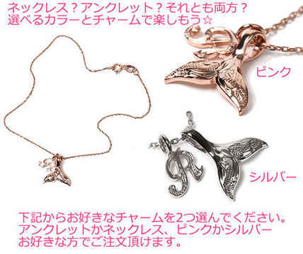Casual Style Initial Handmade Silver Anklets