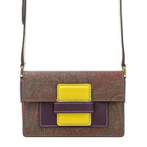 ETRO Paisley Casual Style Crossbody Shoulder Bags