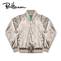 Ron Herman Short Tropical Patterns Unisex Souvenir Jackets