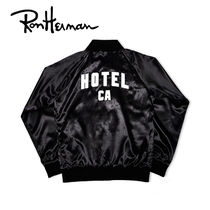 Ron Herman Short Unisex Plain Souvenir Jackets