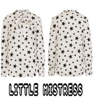 Little Mistress Star Long Sleeves Elegant Style Shirts & Blouses