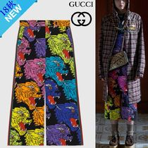 GUCCI Nylon Other Animal Patterns Medium Elegant Style