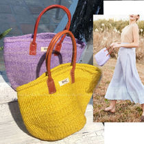 Ron Herman Casual Style Plain Straw Bags