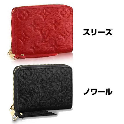 22a47f4d2537 ... Louis Vuitton Coin Purses 18SS ZIPPY COIN PURSE Monogram Empreinte  Leather wallet ...