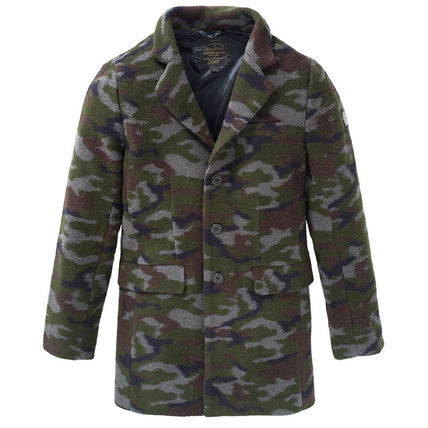 Camouflage Chester Coats