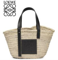 LOEWE Casual Style Straw Bags
