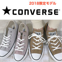 CONVERSE ALL STAR Rubber Sole Casual Style Unisex Suede Street Style Plain