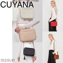 CUYANA Casual Style Plain Leather Shoulder Bags