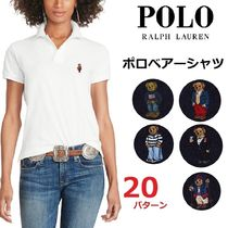 Ralph Lauren Casual Style Cotton Short Sleeves Polo Shirts