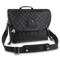 Louis Vuitton MONOGRAM Monogram Canvas Blended Fabrics Street Style 3WAY