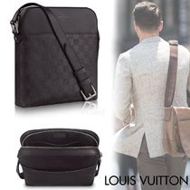 Louis Vuitton DAMIER Other Check Patterns Blended Fabrics Street Style 2WAY