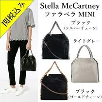 Stella McCartney FALABELLA Faux Fur 2WAY Bi-color Chain Plain Elegant Style Totes
