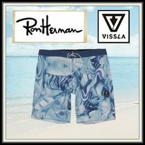 Ron Herman Tropical Patterns Blended Fabrics Street Style Beachwear