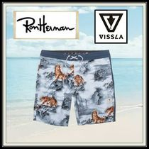 Ron Herman Blended Fabrics Street Style Other Animal Patterns Beachwear