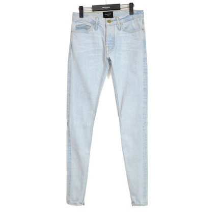 FEAR OF GOD More Jeans Unisex Denim Street Style Plain Jeans