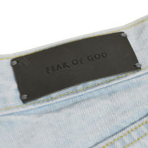 FEAR OF GOD More Jeans Unisex Denim Street Style Plain Jeans 5