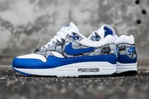 Nike AIR MAX 1 Other Check Patterns Street Style Collaboration Sneakers