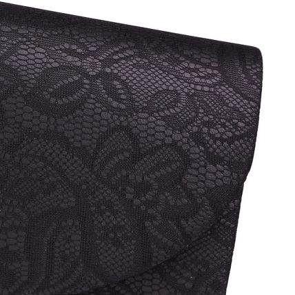 kate hill Clutches Flower Patterns Plain Party Style Clutches 7