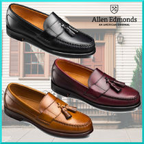 Allen Edmonds Loafers Tassel Plain Leather U Tips Loafers & Slip-ons