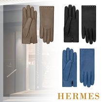 HERMES Casual Style Gloves Gloves