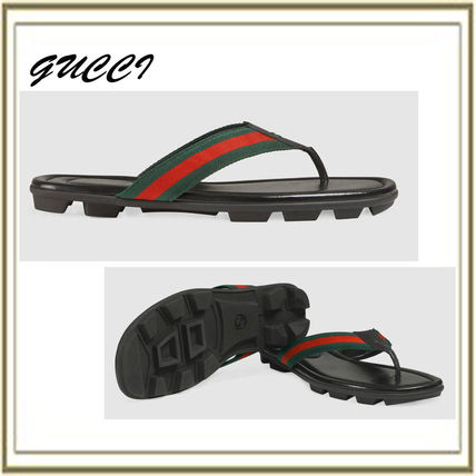 Leather Thong Sandal (429362H91A08480