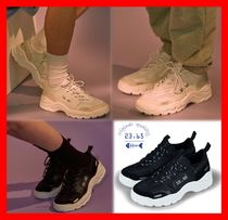23.65 Casual Style Unisex Street Style Leather Low-Top Sneakers