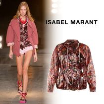 Isabel Marant Flower Patterns Casual Style Blended Fabrics Street Style