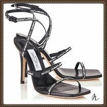 Jimmy Choo Open Toe Casual Style Collaboration Pin Heels Heeled Sandals
