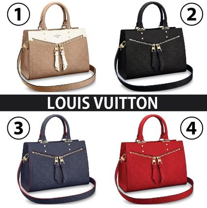 ... Louis Vuitton Handbags 2WAY Plain Leather Elegant Style Handbags ... 69cb9565b8a56