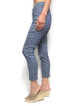 Other Plaid Patterns Office Style Cropped & Capris Pants