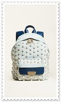 Zac Posen Casual Style 2WAY Leather With Jewels Backpacks