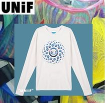 UNIF Clothing Crew Neck Long Sleeves Cotton Long Sleeve T-Shirts